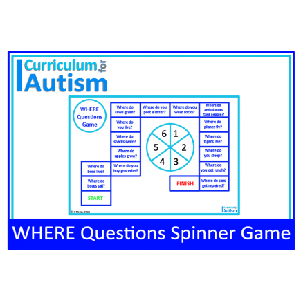 Where Questions Game