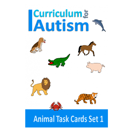 Animal Theme: Fine Motor Skills, Matching, Write and Wipe, Set 1