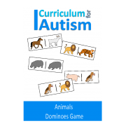 Animals Dominoes Game, Turn Taking Skills