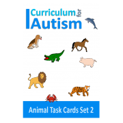 Animals Count, Sequence, Add, Subtract, Write and Wipe ,Set 2