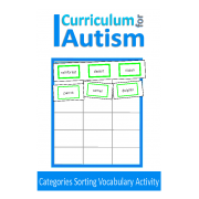 Categories Sorting Vocabulary Reading Activity
