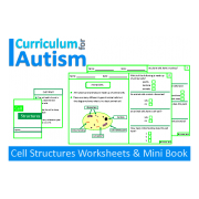 Cell Biology Worksheets and Mini Book