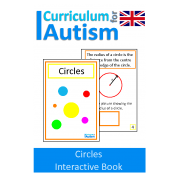 Circles Interactive Adapted Math Book - UK Version