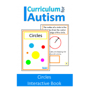 Circles Interactive Adapted Math Book
