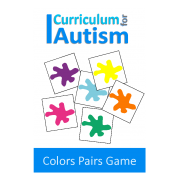 Colors Memory Pairs Game