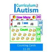 Count 11-20 Clip Cards