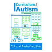 Cut and Paste Counting Worksheets