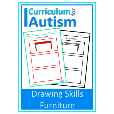Furniture Drawing Skills Sheets