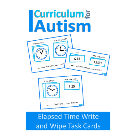 Elapsed Time Write and Wipe Task Cards