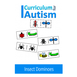 Insect Dominoes Game, Turn Taking Skills