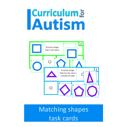 Find The Shape Task Cards