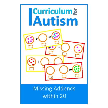 Add & Subtract within 20, Missing Addends, Write & Wipe Cards
