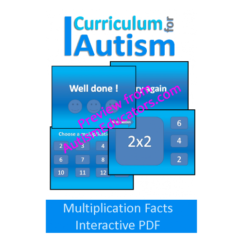 Multiplication times tables no print interactive pdf - Multiplication table interactive ...