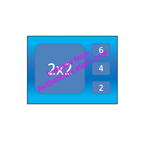 Multiplication Times Tables NO PRINT Interactive PDF