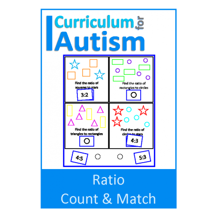 Ratio Count & Match Task Boards