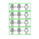 Multiplication Times Table Task Cards, Robots