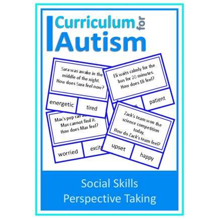Social Skills Perspective Taking clip cards