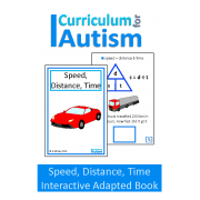 Speed, Distance, Time Interactive Adapted Science Book