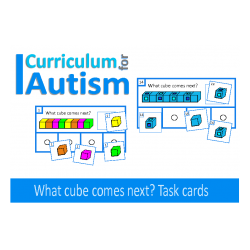 What Cube Comes Next? Task Cards for Visual Thinking Skills