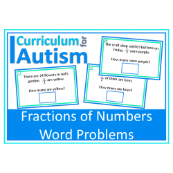 Fractions of Numbers Word Problems