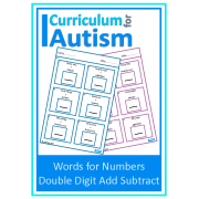 Words for Numbers, Double Digit Add & Subtract
