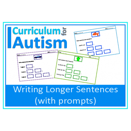 Writing Expanded Sentences, with Prompts
