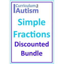 Simple Fractions of Shapes Discounted Bundle