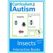 Insects Bugs Interactive Science Books