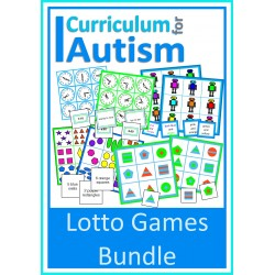 Lotto Games For Turn Taking, Discounted Bundle