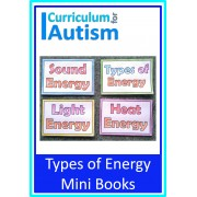 Types of Energy Mini Color & Learn Books