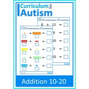 Addition 10-20 Worksheets