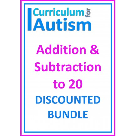 Addition & Subtraction to 20 Discounted Bundle