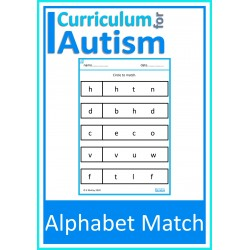 Alphabet Match Worksheets