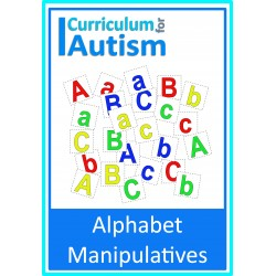 Letters of the Alphabet Manipulatives
