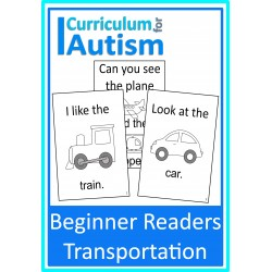 Beginner Reader Books Transport / Vehicles Theme