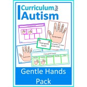 "Positive Behavior Pack ""Gentle Hands"", Visual Prompts, Reward Tokens, Posters, Badges"