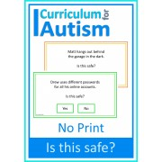 Life Skills Safety 'Is this Safe?' NO PRINT Paperless