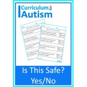 Life Skills Safety Yes No Worksheets