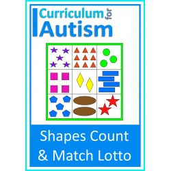 Colors & Shapes Counting Lotto Games
