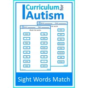 Sight Words Matching, Write and Wipe