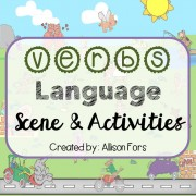 Verbs Language Scene