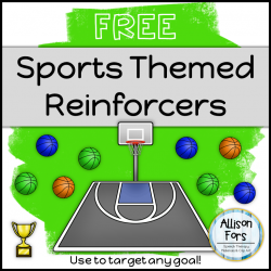 Sports Themed Reinforcers