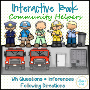 Interactive Book: Community Helpers