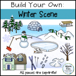 Build Your Own Winter Scene