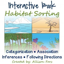Interactive Book: Habitats