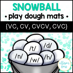 Apraxia Play Dough Mats - /t,d,n,h,w/