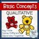 [NO PREP] Qualitative Concepts Worksheets