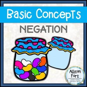 [NO PREP] Negation Concept Worksheets