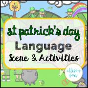 St Patrick's Day Language Scene