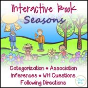 Interactive Book: Seasons